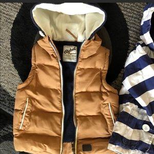 Three-year-old kids vest